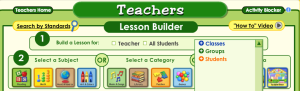 Customize who to build lessons for